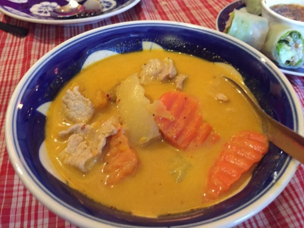 Cambodian curry; this is Diane's favorite