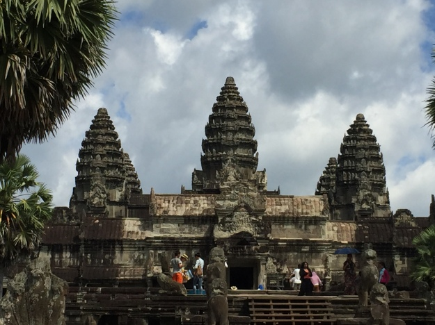 Angkor Wat; Cambodia's most well known Temple
