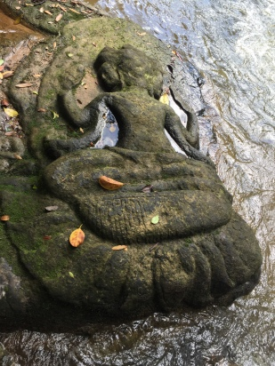 Images carved into the riverbank 1000 years ago