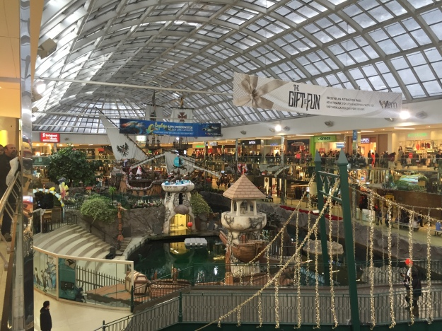 West Edmonton Mall, the world's largest shopping mall