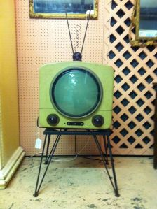 The last TV a repairman fixed in America