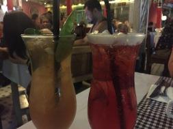 Incredibly delicious cocktails