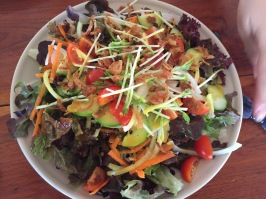 Best side salad in Chiang Mai